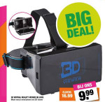 3D Virtual reality headset – Nu in de aanbieding bij Big Bazar